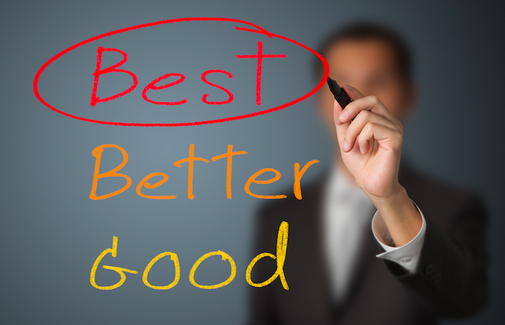 Being THE Best VS Being YOUR Best
